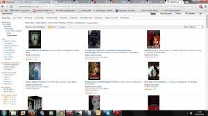 Borderliners in psychological Amazon category 26 Feb 2014